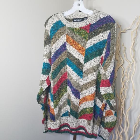 90s Coogi Style Ed Bassmaster Henley Sweater 90s Henley Sweater, 90s Coogi Style Mens Large Ed Bassmaster Cotton Knit Henley Sweater